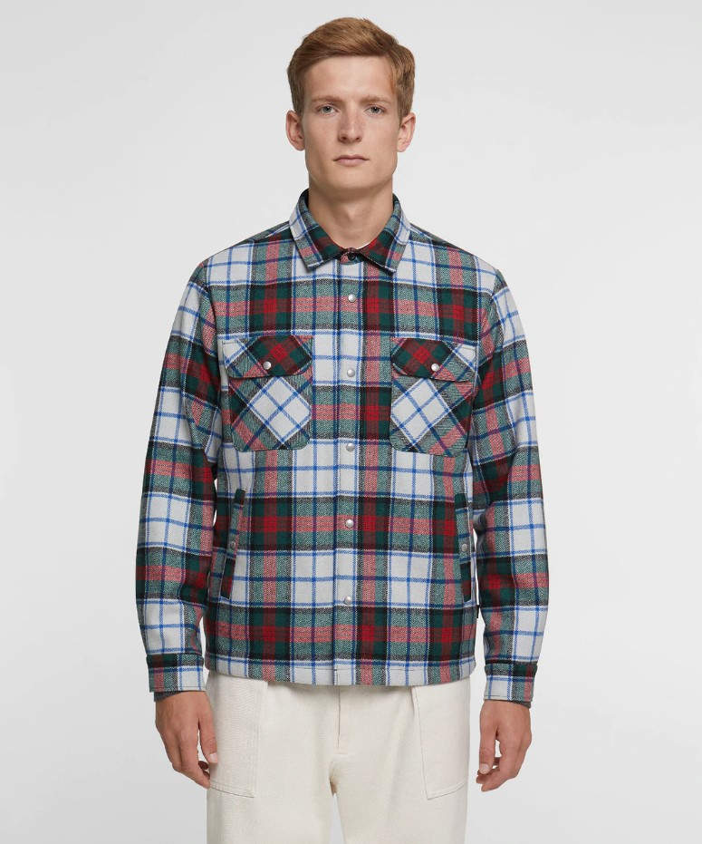 Woolrich Men's Alaskan Quilted Over Shirt