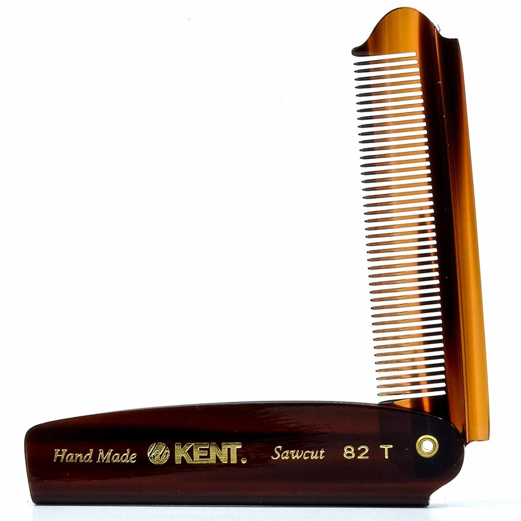 A good comb is a necessary tool for many hairstyles for older men.