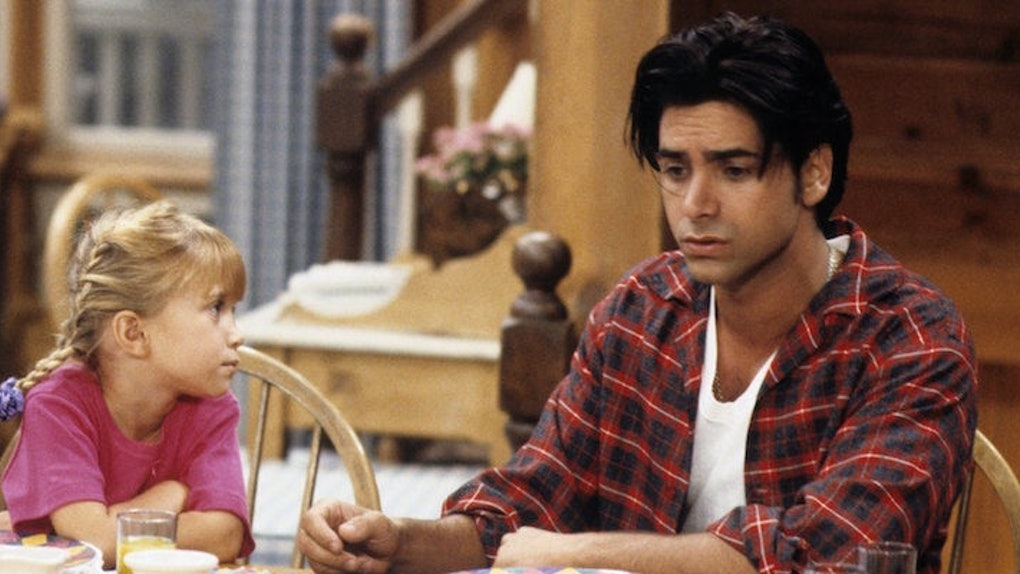 John Stamos as Uncle Jesse on Full House