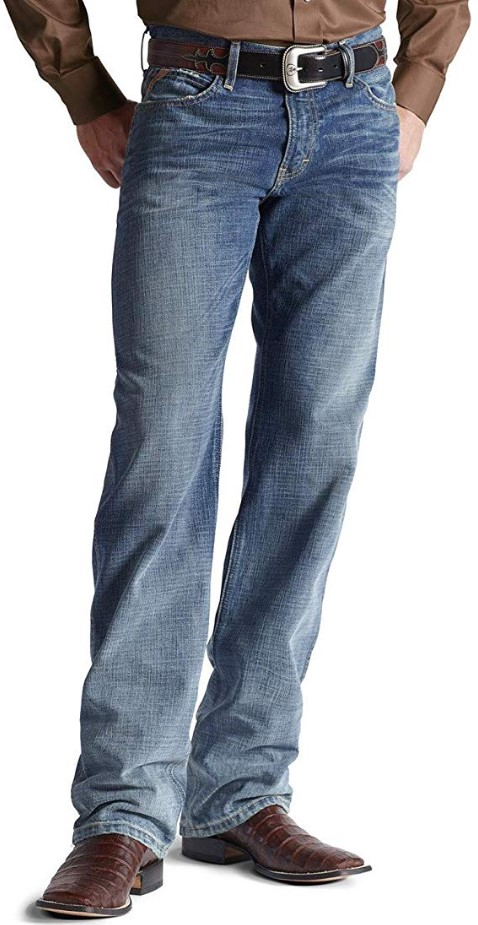 Ariat Men's Denim Jeans M3 Scoundrel Athletic Fit