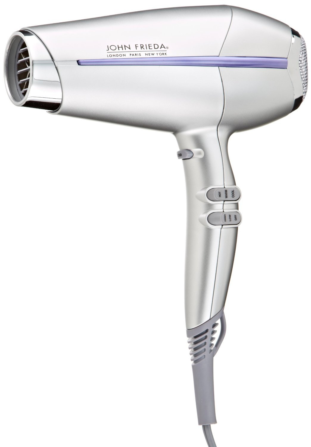 You'll get more versatility with hairstyles for older men by using a hair dryer.
