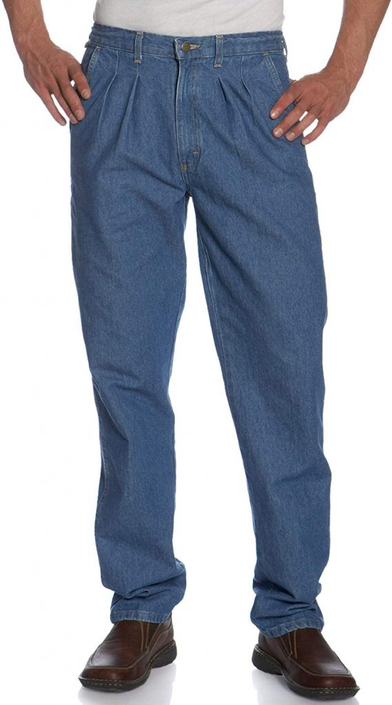 Wrangler Men's Rugged Wear Relaxed Fit Angler Jean