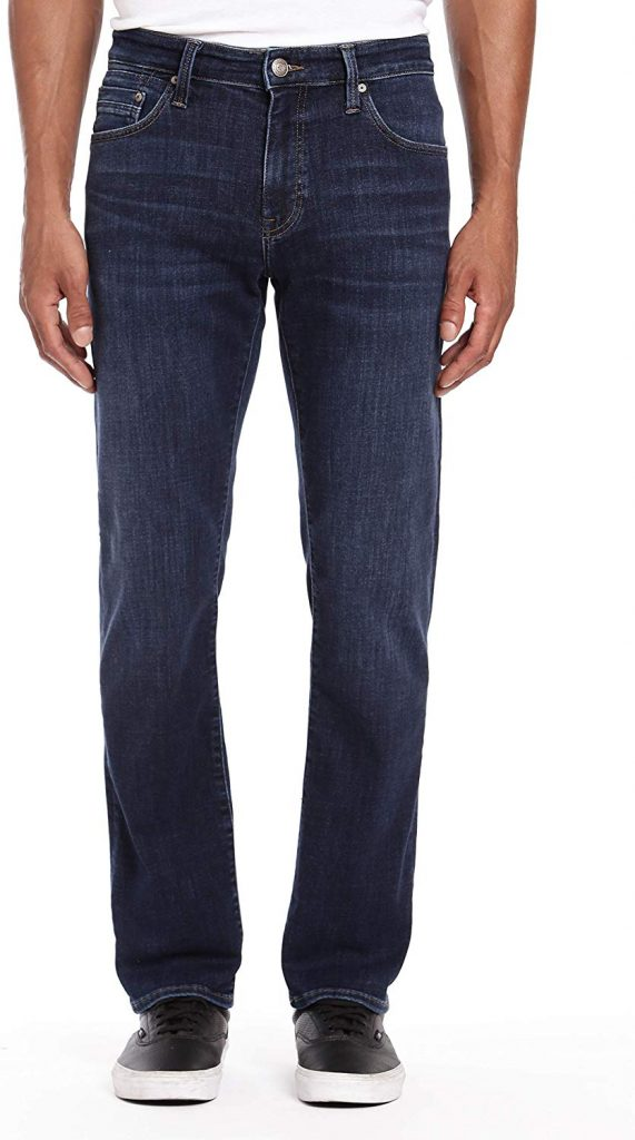 Mavi Men's Zach Straight Leg Jeans