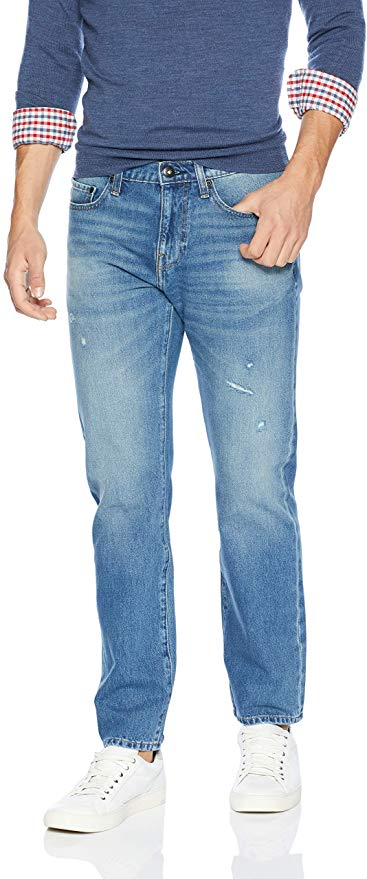 Goodthreads Men's Comfort Stretch Straight-Fit Jean