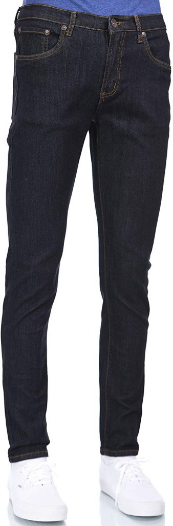 Eagle Blue Jeans Men's Skinny Stretch