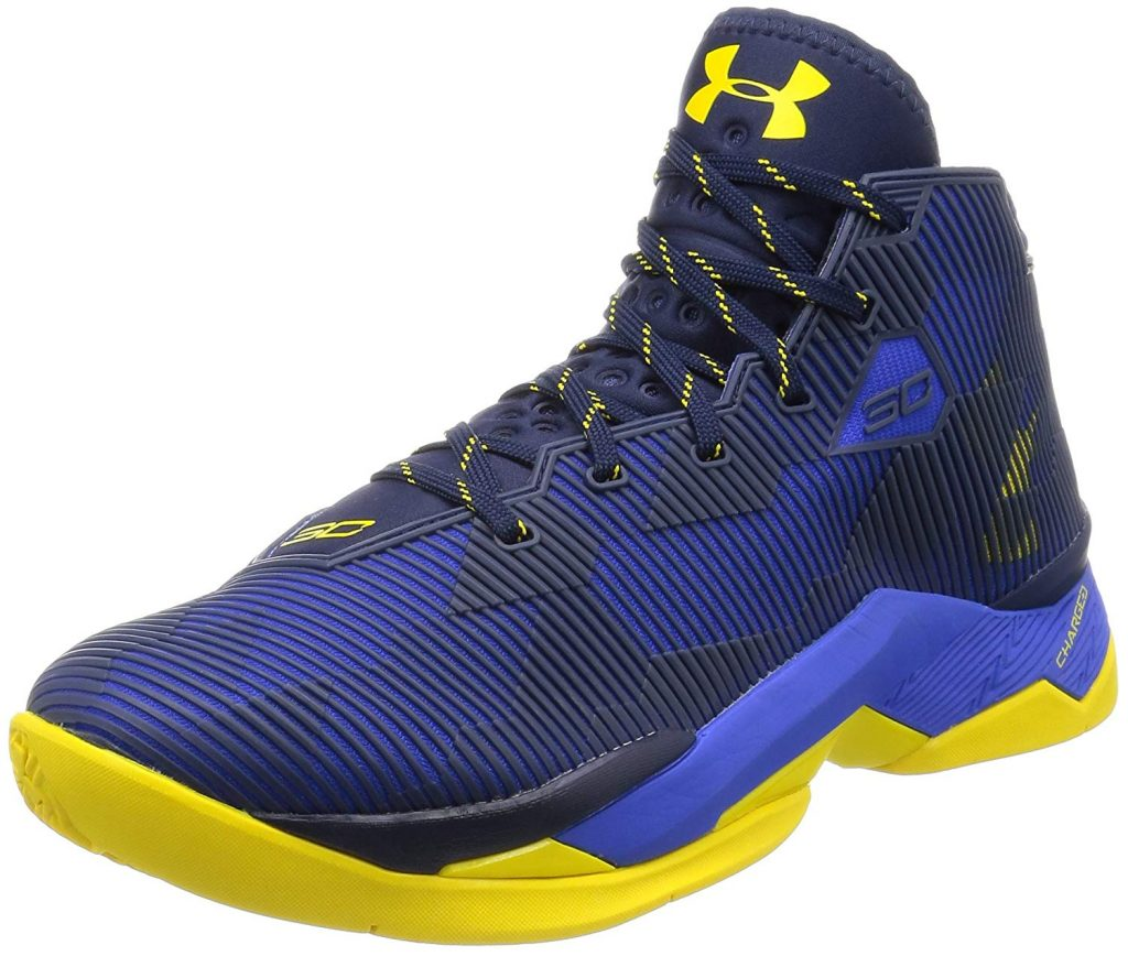 Channel Stephen Curry with the Under Armour Men's Curry 2.5 Basketball Shoes.