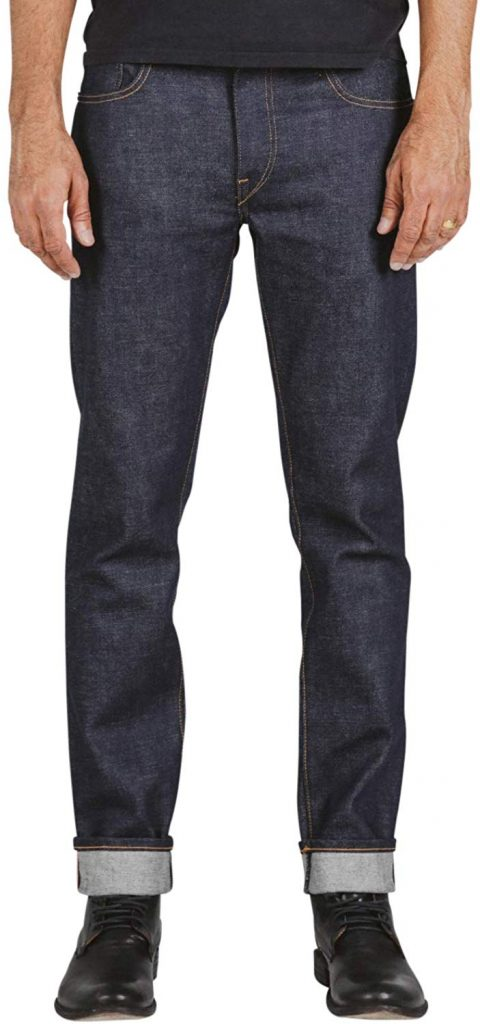 Hiroshi Kato The Pen Slim Straight 4-Way Stretch Selvedge Jeans