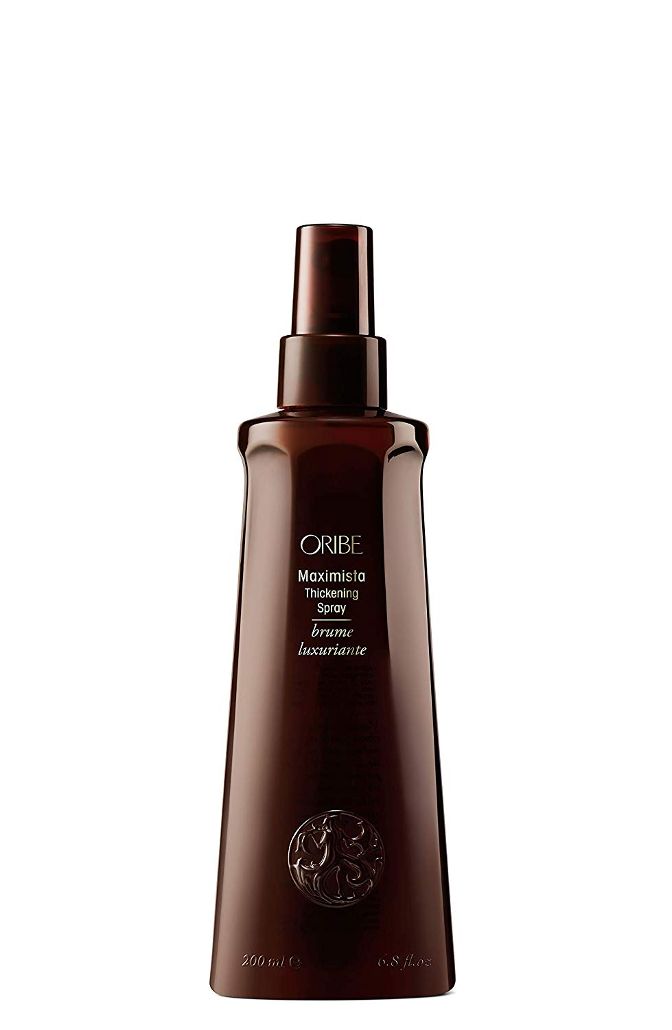 Add more volume to your hair with a thickening spray.