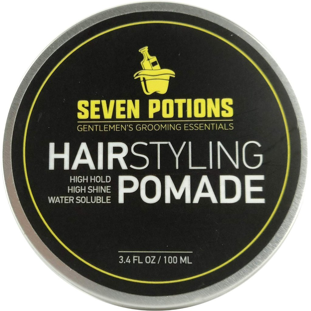 Pomade is a staple in any man's grooming kit.