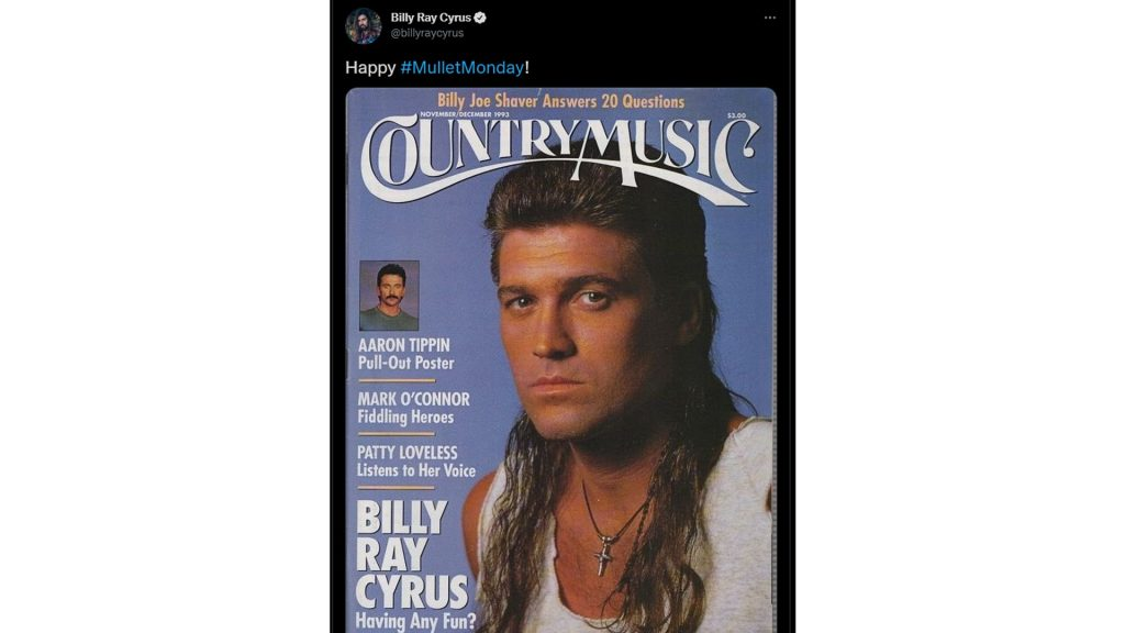 billy ray cyrus mullet 80s hairstyles for men