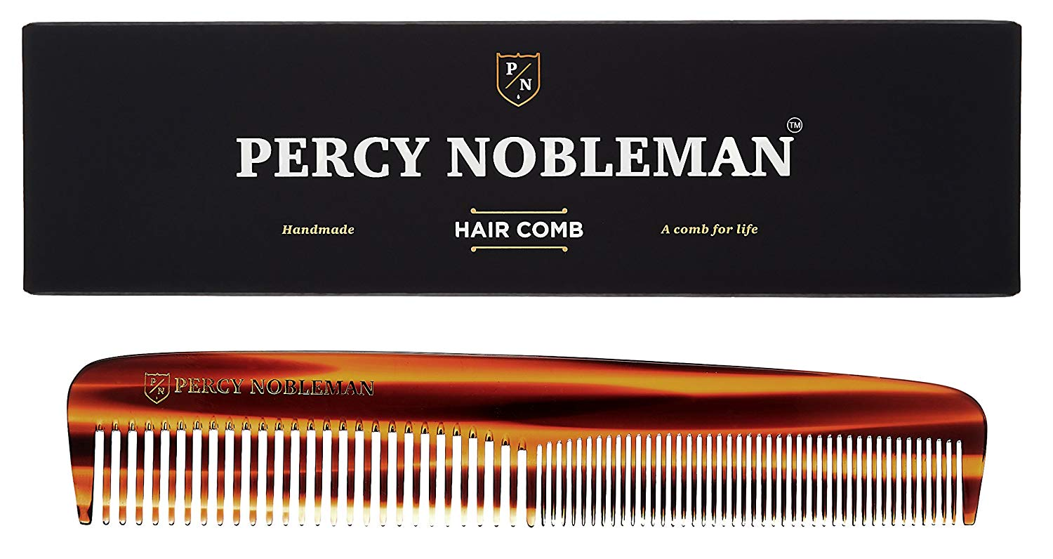 Use a comb for comb-overs or slicked back hair.