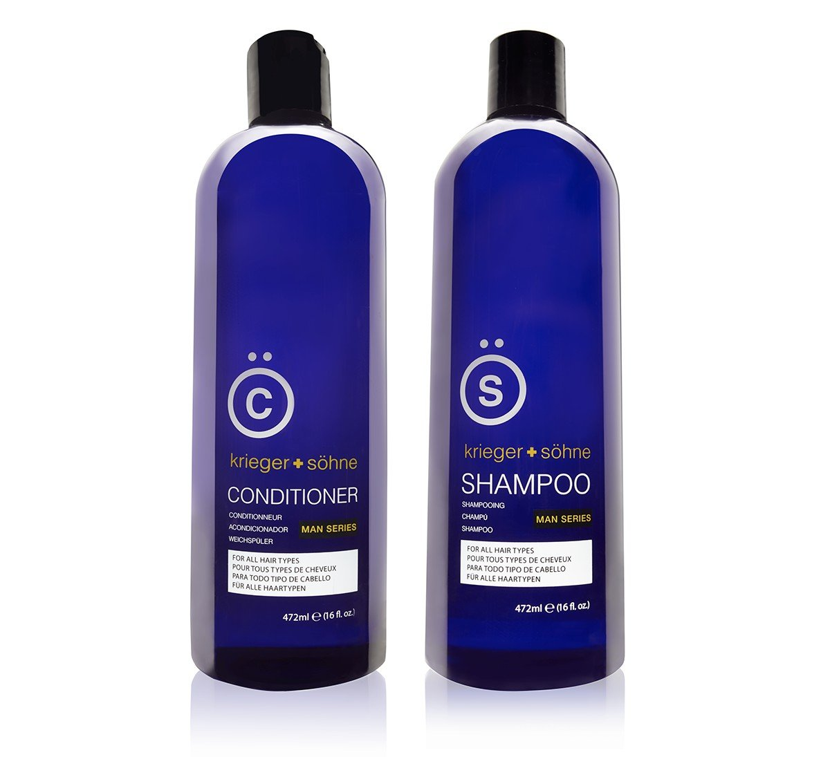 krieger + sohne shampoo and conditioner