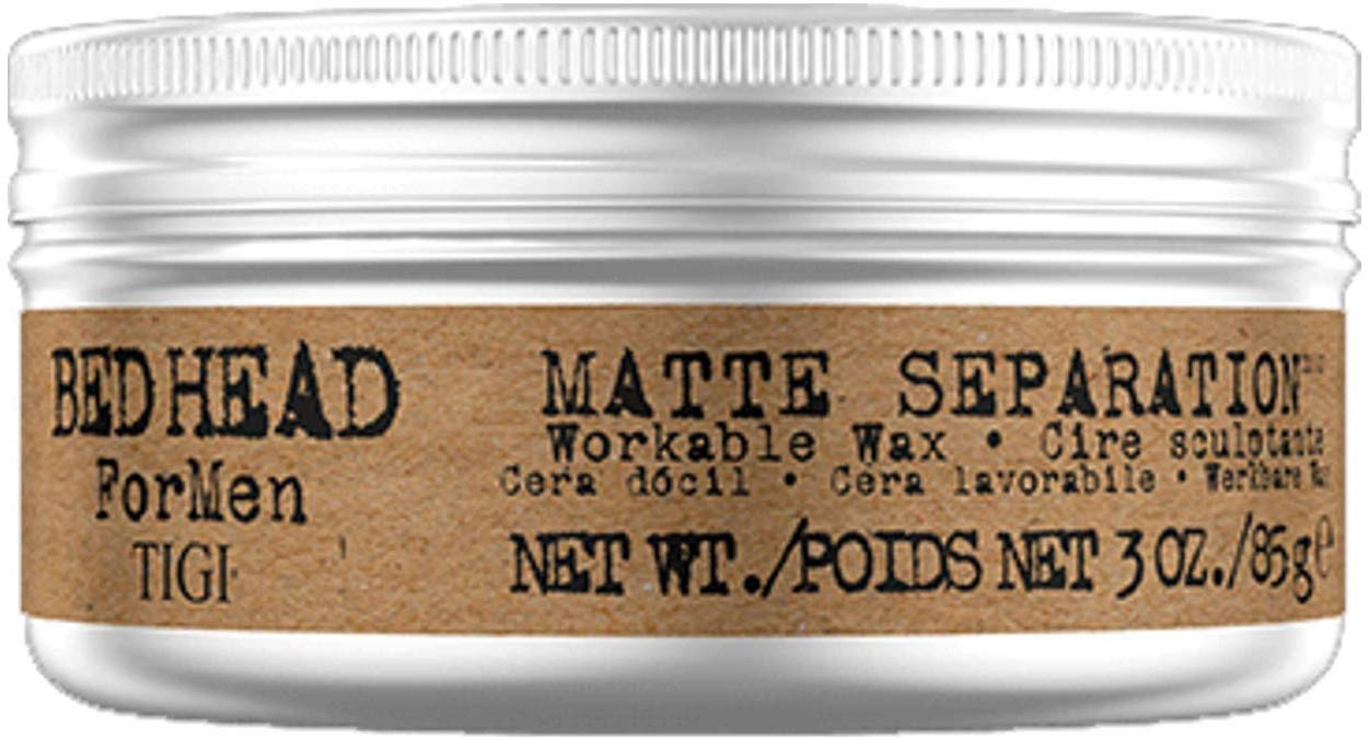 Hair wax can help define your hairstyle.