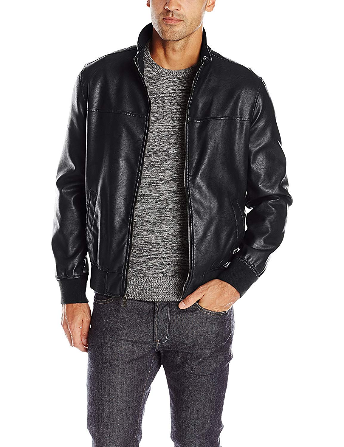 tommy hilfinger faux leather jacket, casual fashion, casual outfits, casual clothes, casual wear