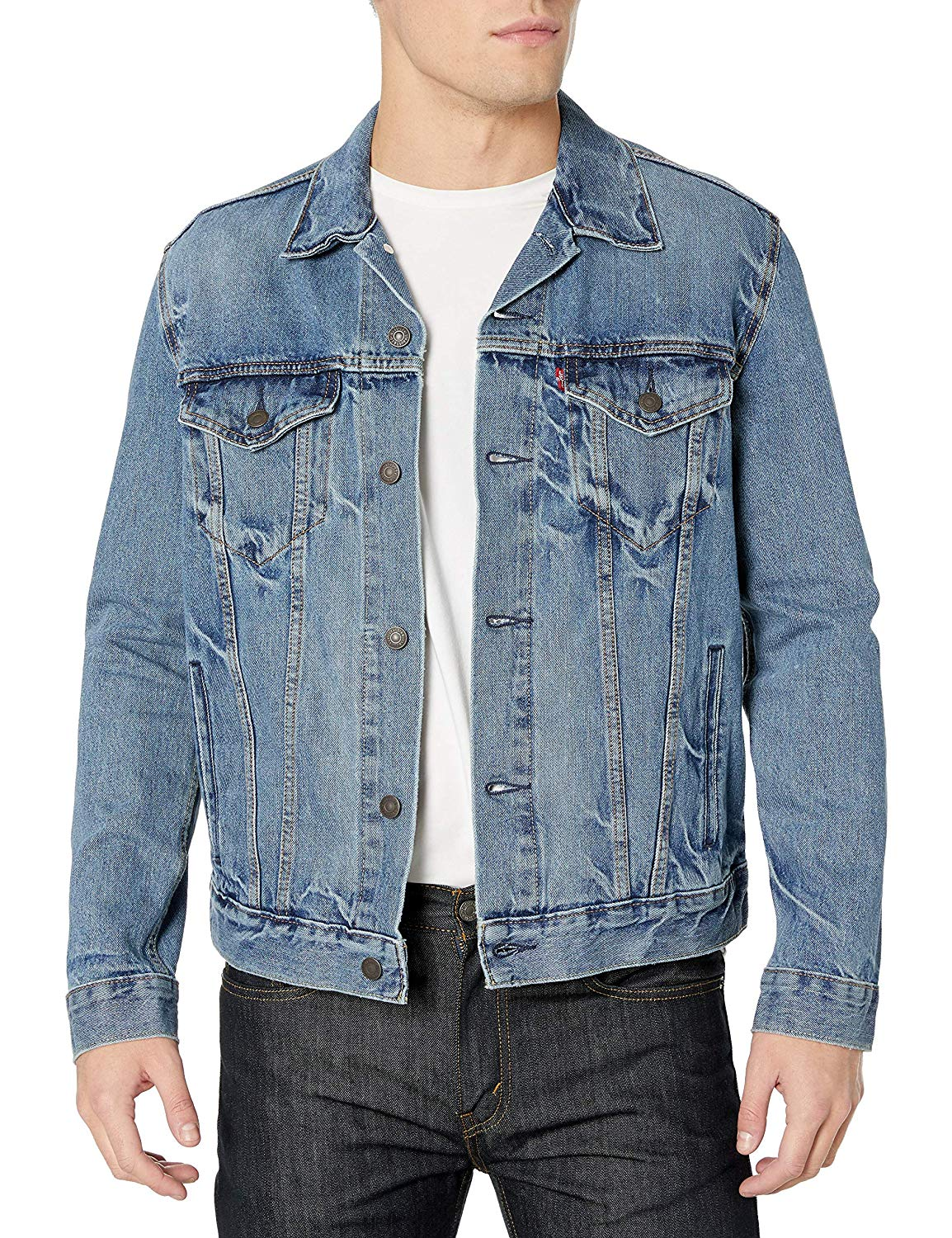 levi's original trucker jacket, casual fashion, casual outfits, casual clothes, casual wear
