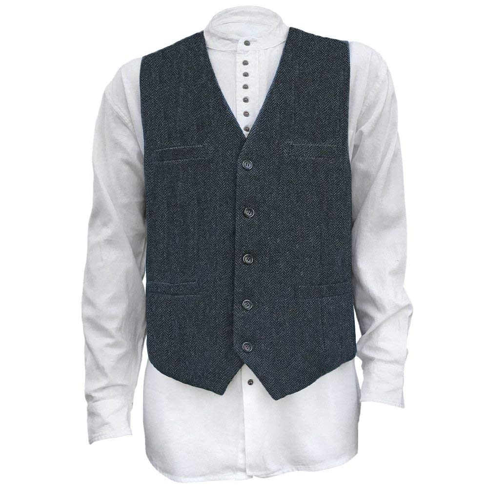 celtic ranch tweed vest paired with a white long-sleeved dress shirt, casual fashion, casual outfits, casual clothes, casual wear
