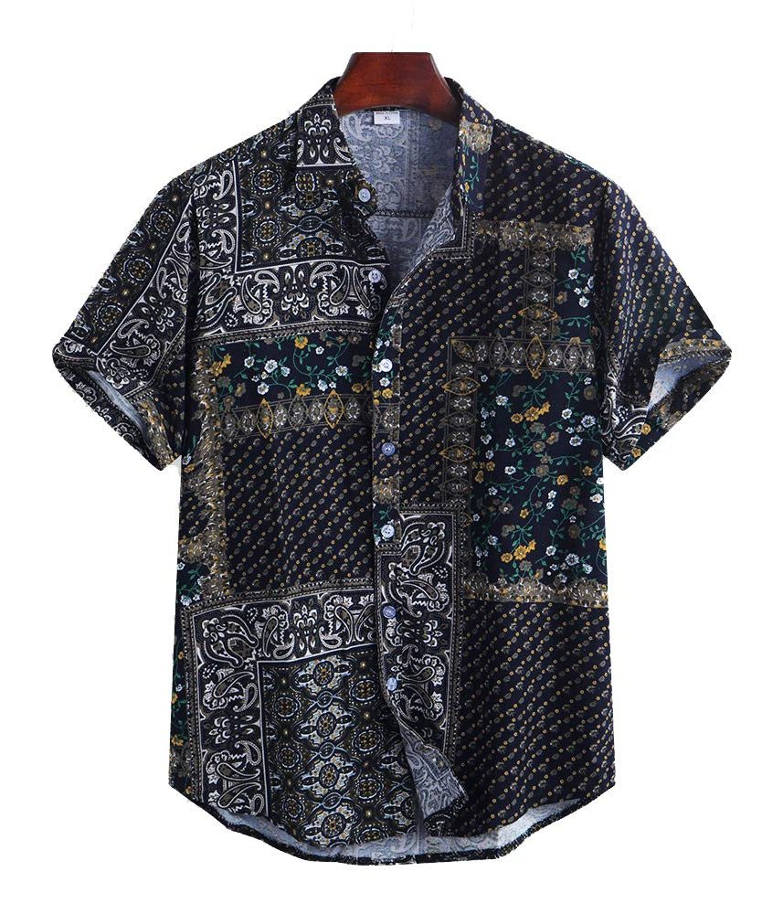 yualice printed shirt, casual fashion, casual outfits, casual clothes, casual wear