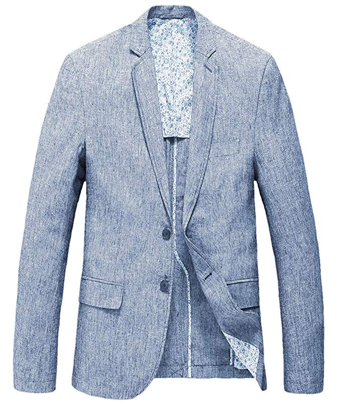 chouyatou blazer in blue, casual fashion, casual outfits, casual clothes, casual wear