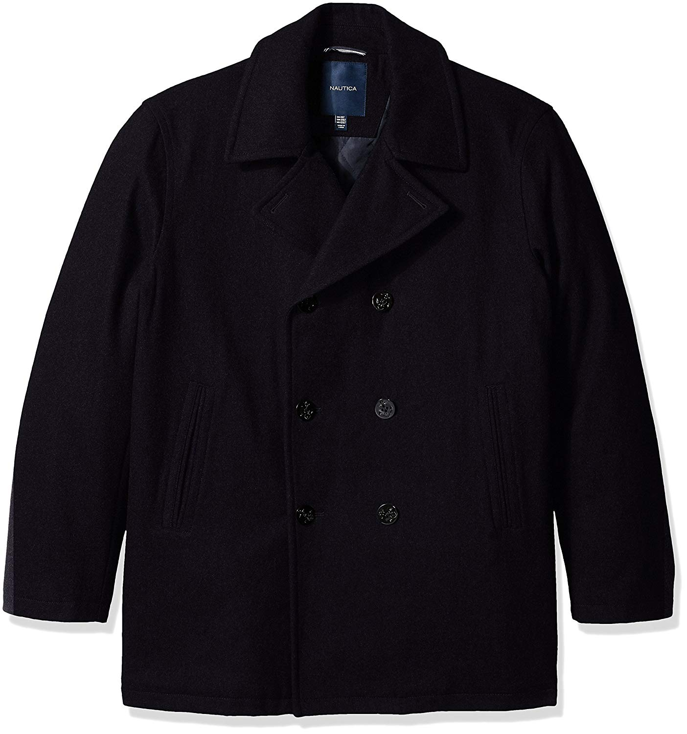 nautica big and tall wool peacoat, casual fashion, casual outfits, casual clothes, casual wear