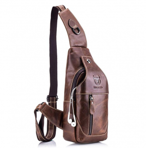 Bull Captain Sling Crossbody Bag, Men's Fashion Trend, Crossbody Bag