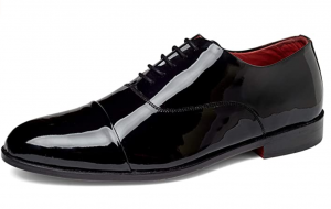 Carlos by Carlos Santana Men's Cap-Toe Tuxedo Oxford, Dress Shoes
