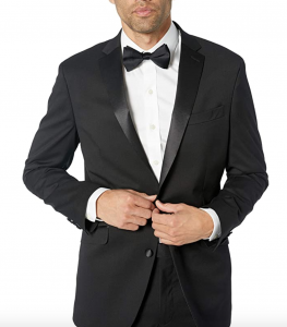 Kenneth Cole Reaction Men's Satin Lapel Tuxedo, Men's Tuxedo