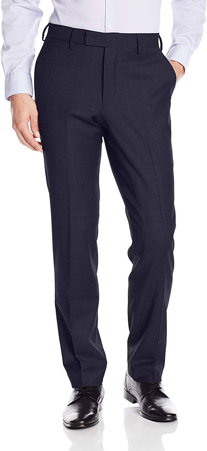 Wool dress pants for men from Louis Raphael