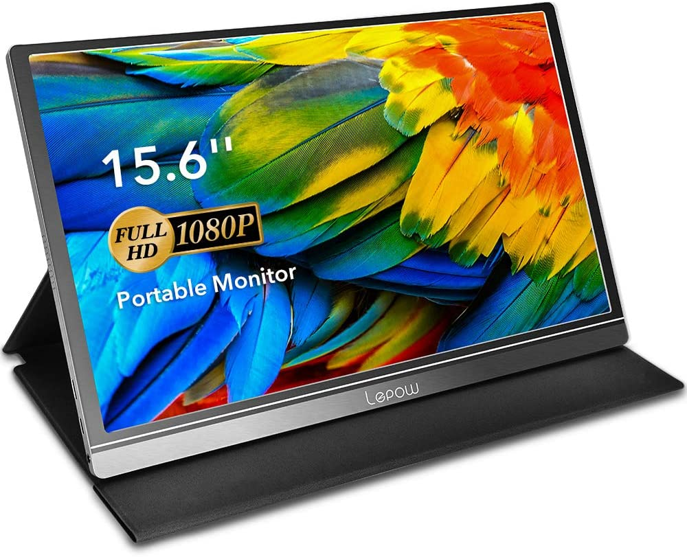Monitor with colorful display from Lepow
