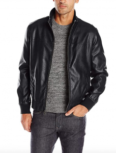 Tommy Hilfiger Men's Smooth Lamb Faux Leather Jacket, Men's Fashion Trends