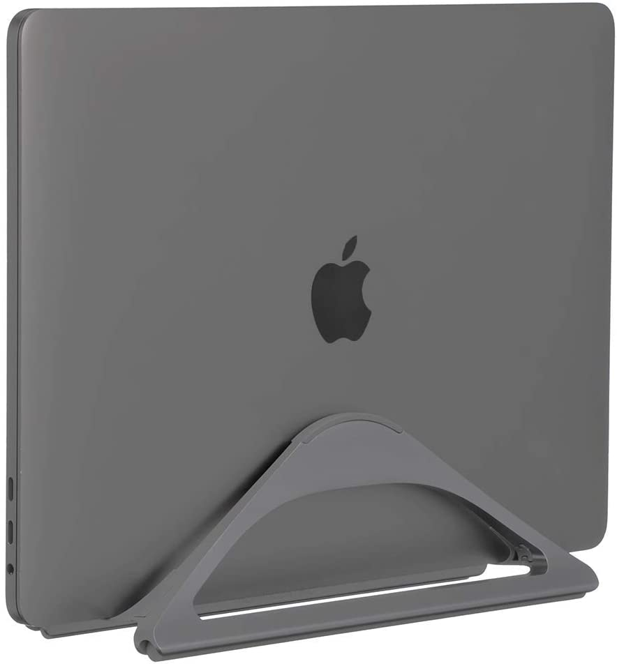 Vertical laptop stand from HumanCentric