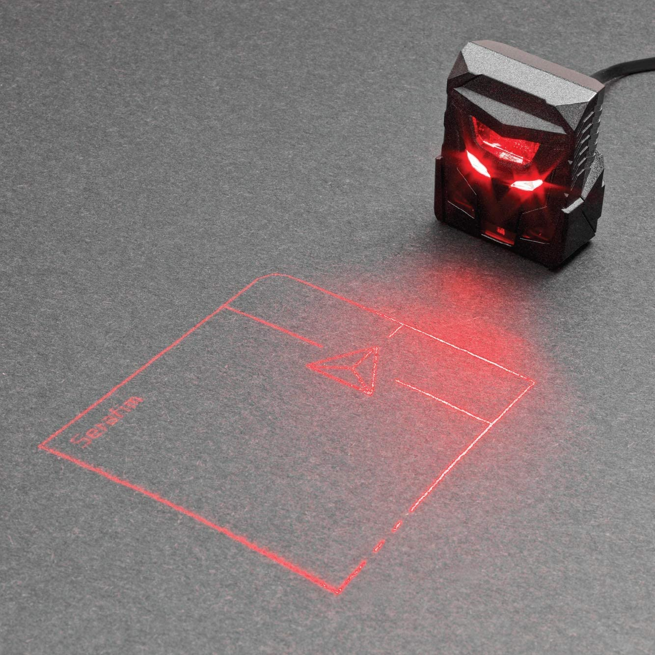 Holographic laser mouse from ODin