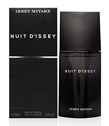 issey miyake nuit d'issey bottle and box
