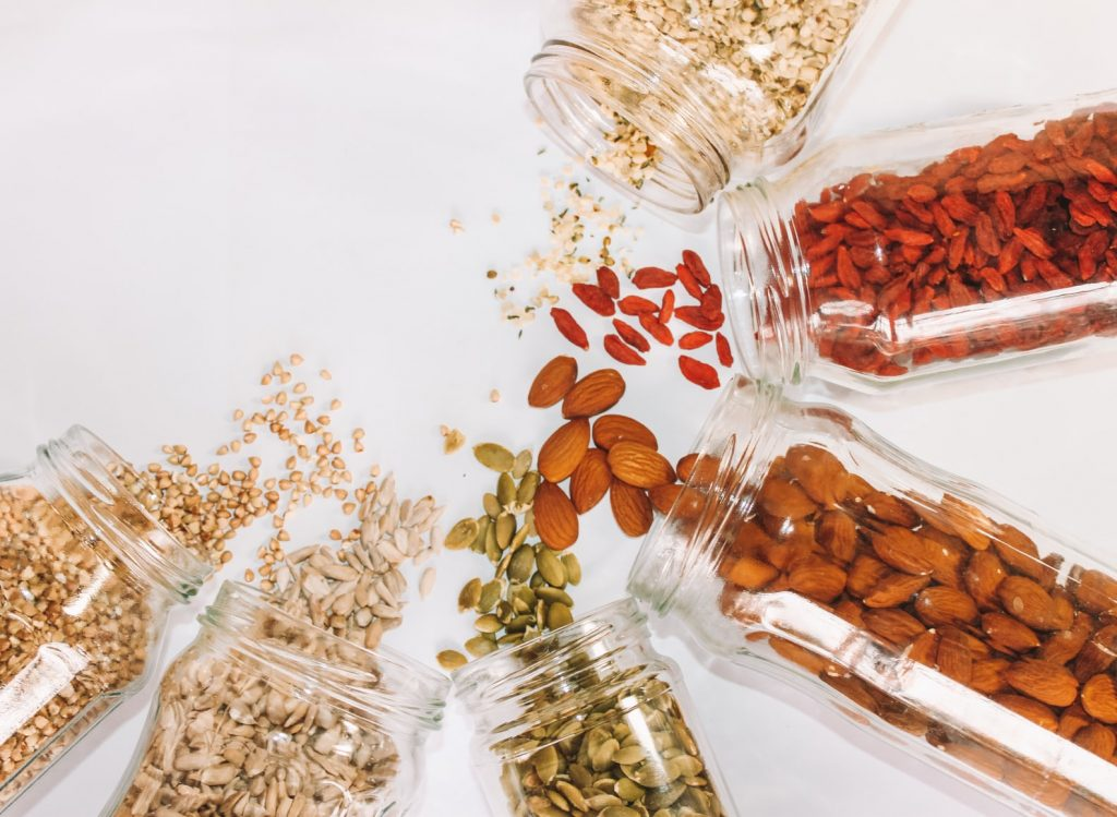 nuts and seeds, healthy foods