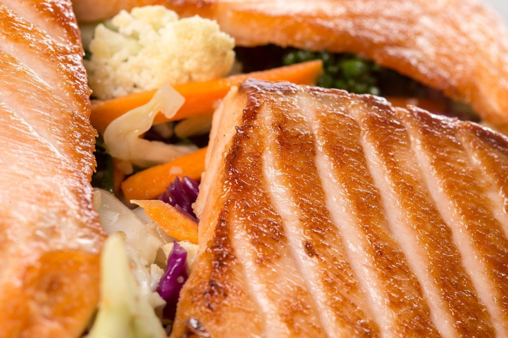 Salmon, Grilled, Fish, Healthy Fats, Weight Loss Foods