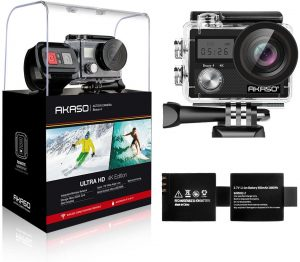 AKASO Brave 4 4K 20MP WiFi Action Camera