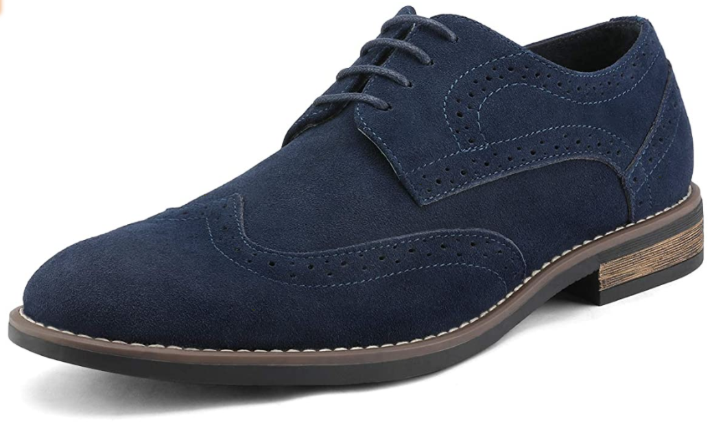 Bruno Marc Men's Urban Suede Oxfords