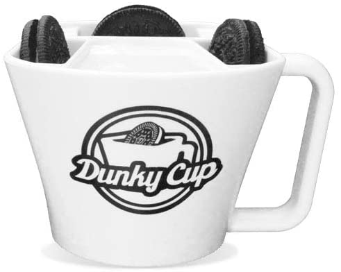 Dunky cup with three oreos cookies