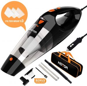 HOTOR Corded Car Vacuum Cleaner High Power for Quick Car Cleaning
