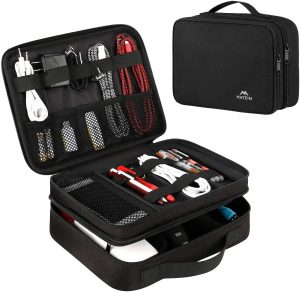 Matein Electronics Travel Organizer