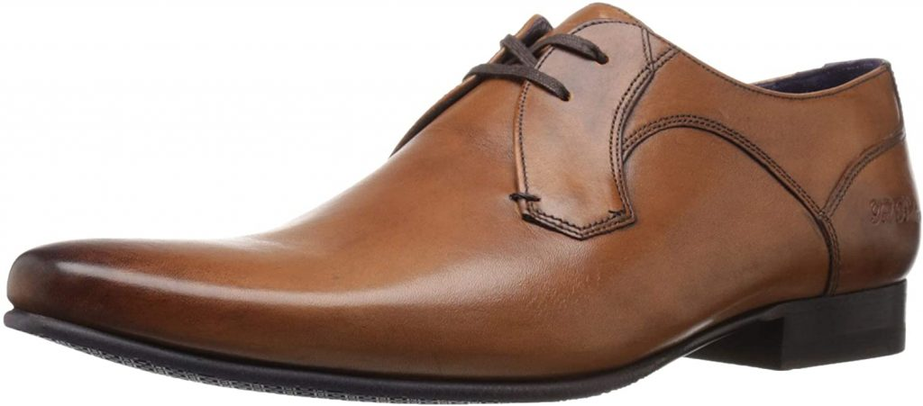 The Ted Baker Men's Martt 2 Oxfords are sleek dress shoes for men.