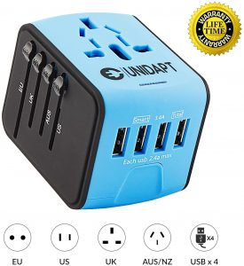 Unidapt Universal Travel Power Adapter