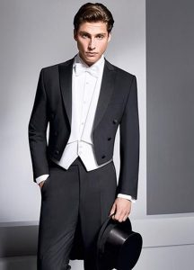 White Tie Formal, Men's Fashion