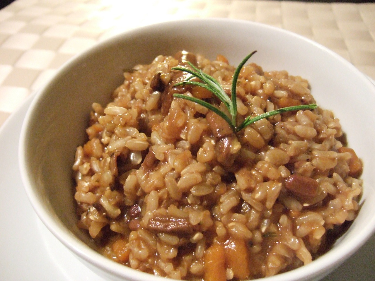 Brown Rice, Muscle Building Food, Bowl, Proper Diet, Healthy Eating