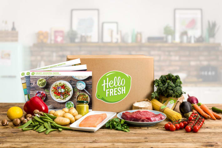 Hello Fresh, Food Subscription Services, Healthy Eating, Meals