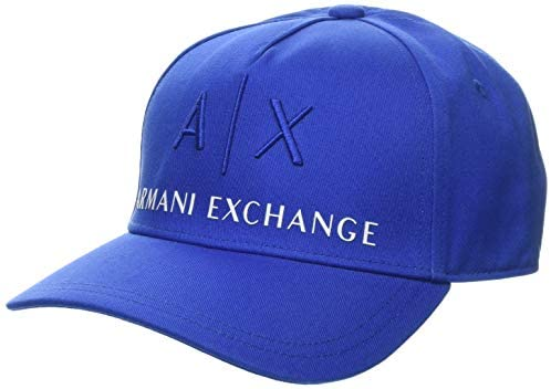 Armani Exchange Men's Classic Logo Embroidery Hat