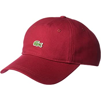 Lacoste Men's Embroidered Crocodile Cap
