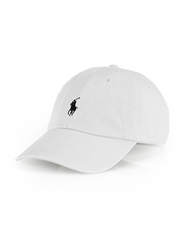 Ralph Lauren Polo Cotton Twill Signature Baseball Cap