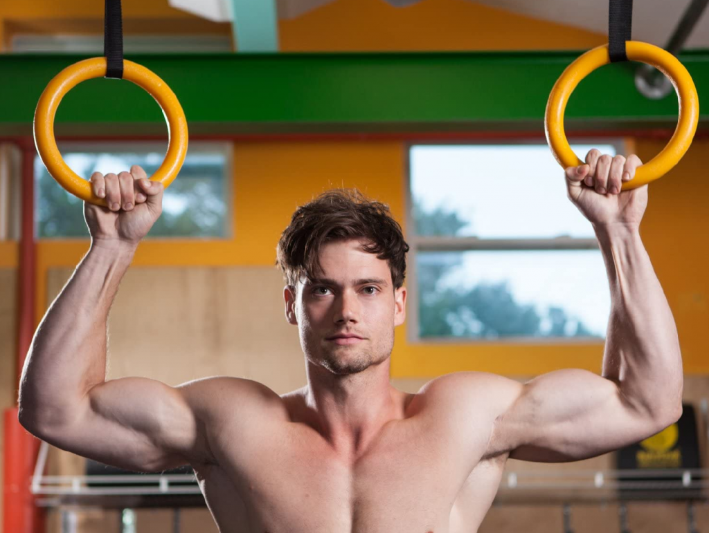 gymnastic rings for your home gym