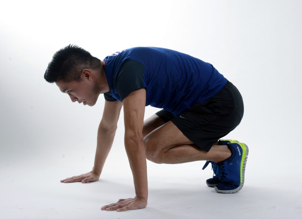 Burpees for your HIIT workouts