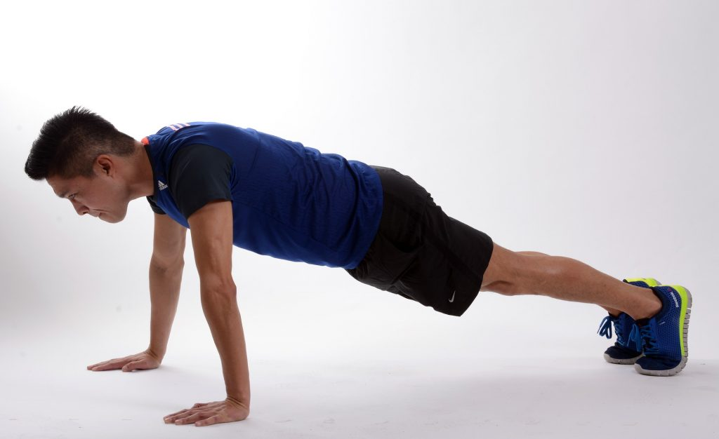 Push ups for your HIIT workouts